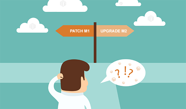 patch or upgrade Magento