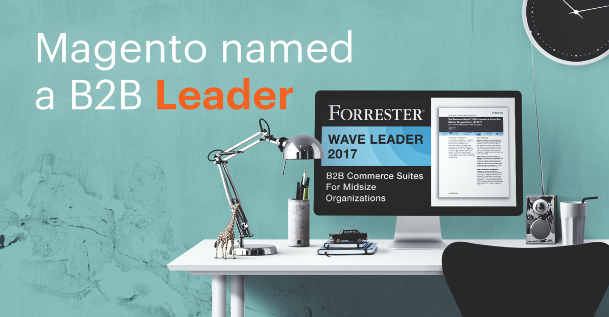"Magento Commerce Named a B2B ""Leader"""